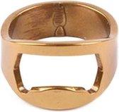 Bieropener Ring - Verschillende kleuren | Kleur: Goud