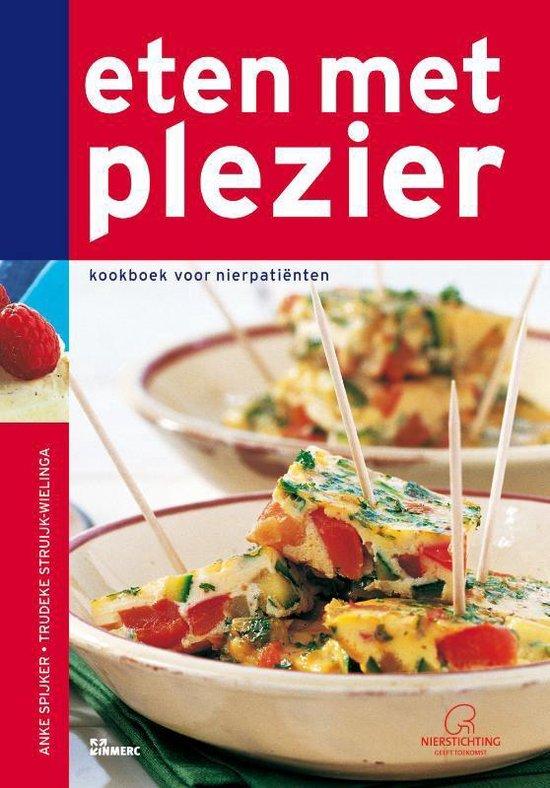 Boek cover Eten met plezier van Anke Spijker