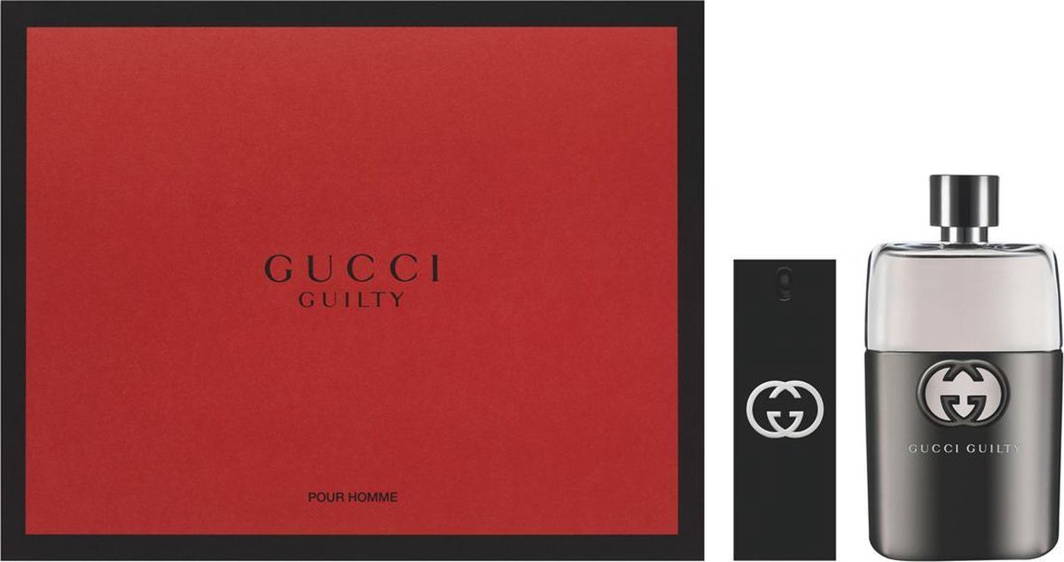 Gucci Guilty Pour Homme 90ml EDT Spray / 30ml EDT Spray - Gucci