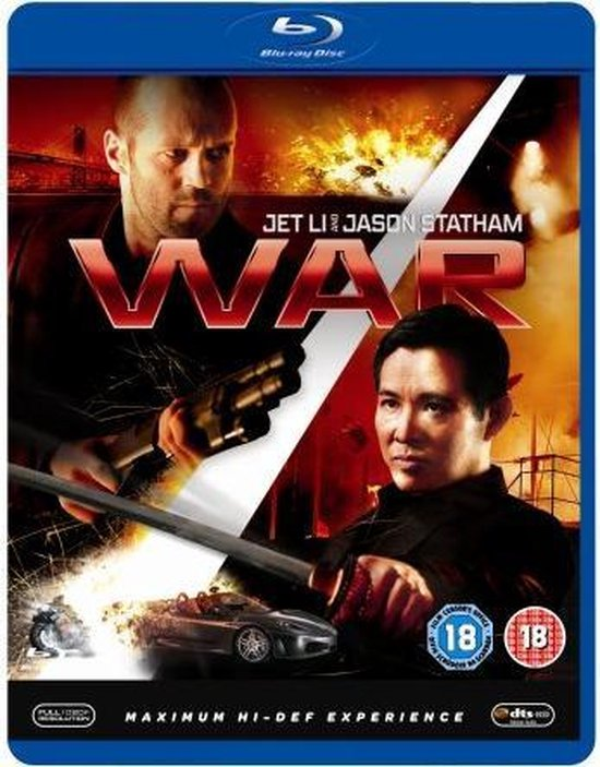 Cover van de film 'War'