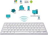 Universeel Draadloos Bluetooth - Toetsenbord Voor Smart TV / Tablet / (Windows) PC / Apple Mac - iPad - Samsung - iPhone -  Macbook - iMac / Android