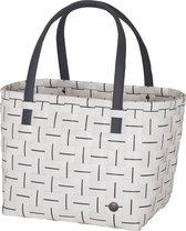 Handed By - Shopper - Tas - Fine Line Elegance - Wit