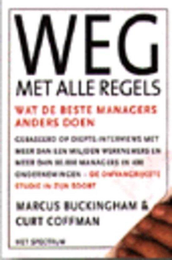 Weg Met Alle Regels - M. Buckingham pdf epub