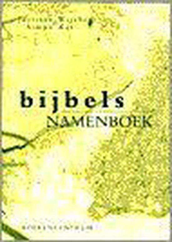 Bijbels namenboek, het - Wychers  