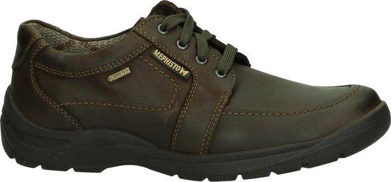 Mephisto - Bristol Gt Grizzly - Casual schoen comfort - Heren - Maat 41 - Bruin - 151 -Dark Brown
