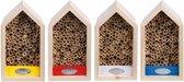 Bijenkast - 4 kleuren - set van 3 stuks
