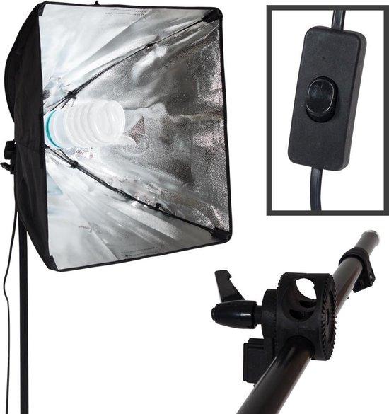 TecTake Studiolamp - studio lamp fotolamp - fotografie softbox - 400896