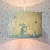 Lamp Kinderkamer Silhouet Groen Dandelion – Land of Kids kinderlamp - Kinderkamer Slaapkamer hanglamp – Babylamp Meisjeskamer – Babykamer kinderlampen