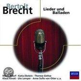 Brecht: Lieder Und Balladen