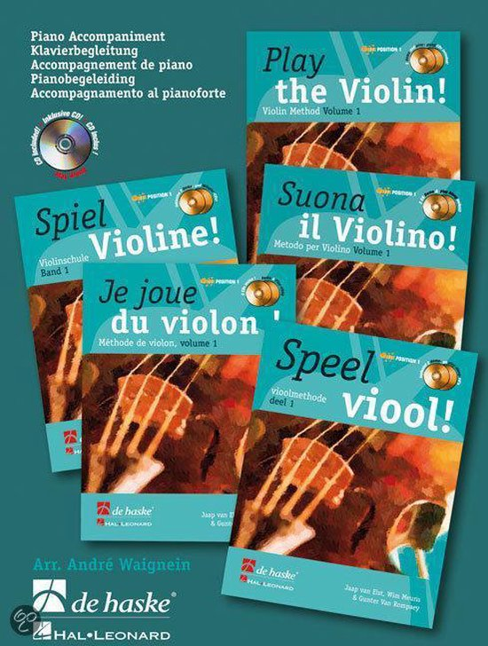 Play the Violin Piano Accompaniment Vol - W. Meuris | Fthsonline.com