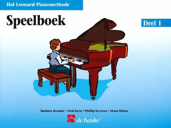 Boek cover HAL LEONARD PIANOMETHODE SPEELBOEK 1 van Hal Leonard (Onbekend)