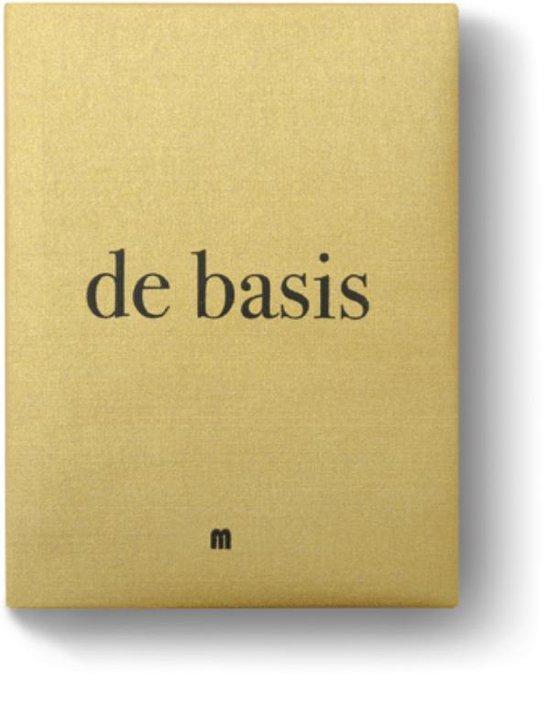 Afbeelding van Basis, De (Kookboek over basistechnieken)