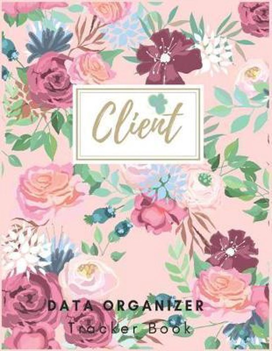 Client Data Organizer Book