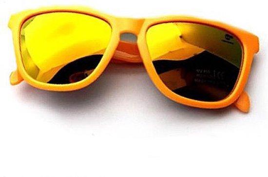 Oranje zonnebril - Holland - UV400