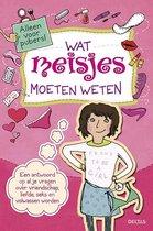 Boek cover Wat meisjes moeten weten van Sabine Thor - Wiedemann (Paperback)