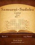 Samurai-Sudoku Luxus - Mittel - Band 7 - 255 R tsel