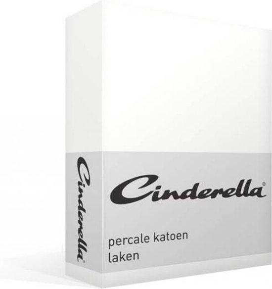 Cinderella - Laken - Katoen - Eenpersoons - 160x260 cm - White