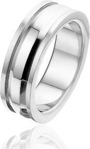 Montebello Ring Lovers - Unisex - 316L Staal - 5 mm - Maat 62 - 19.8mm