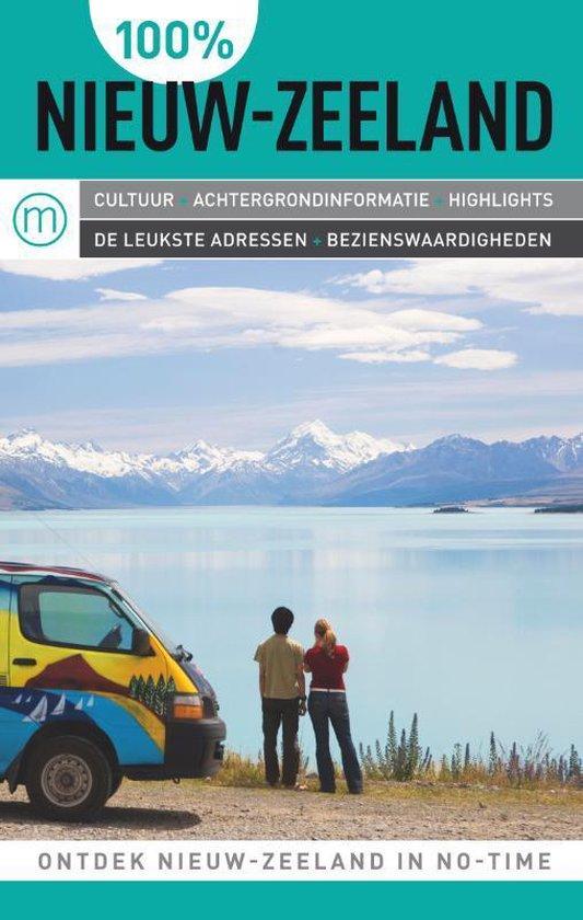 Cover van het boek '100% Nieuw-Zeeland' van K. Rødsgaard-Mathiesen