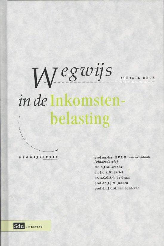 Cover van het boek 'Wegwijs in de Inkomstenbelasting / druk 8'