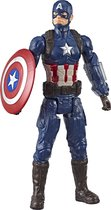 Captain America Avengers Titan Hero Power FX - Speelfiguur 30cm