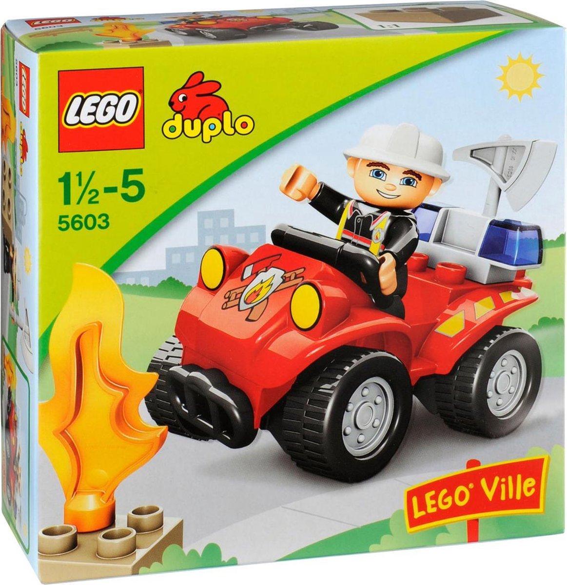 LEGO DUPLO Ville Brandweercommandant - 5603