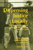 Omslag Dispensing Justice Locally