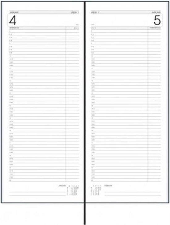Afbeelding van Horeca Agenda 2019 - LANG 1 dag per pagina BORDO