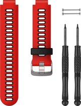 Forerunner 735XT Accy Bands Lava Red/Bl