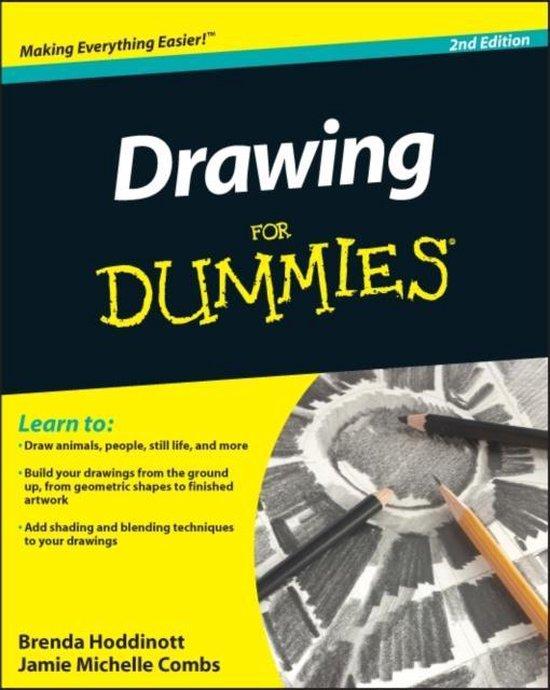 Boek cover Drawing For Dummies van Brenda Hoddinott (Paperback)