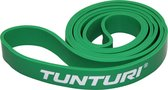 Tunturi Power Band - Weerstandsband - Fitness Elastiek - Medium - Groen