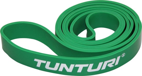 Tunturi - Power Band - Weerstandsband - Fitness Elastiek - Medium - Groen