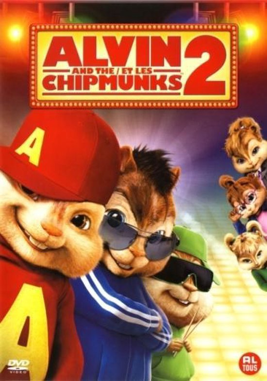 Cover van de film 'Alvin And The Chipmunks 2'