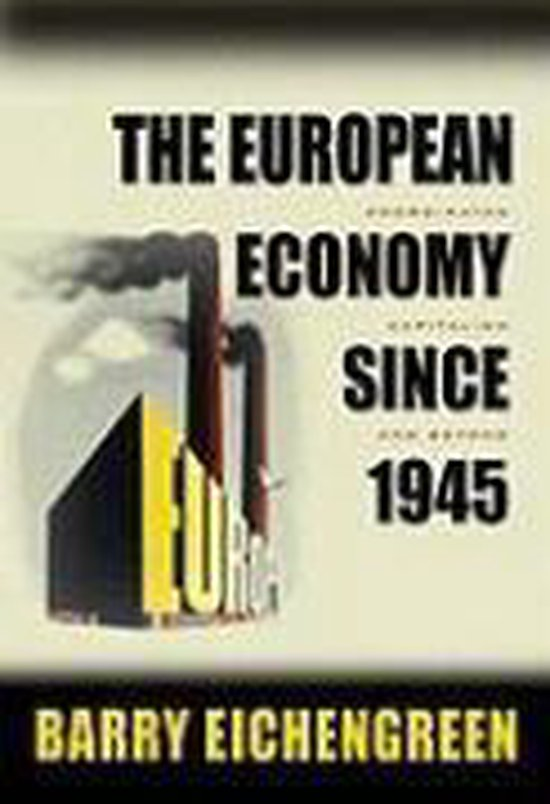 Boek cover The European Economy since 1945 van Barry Eichengreen (Paperback)