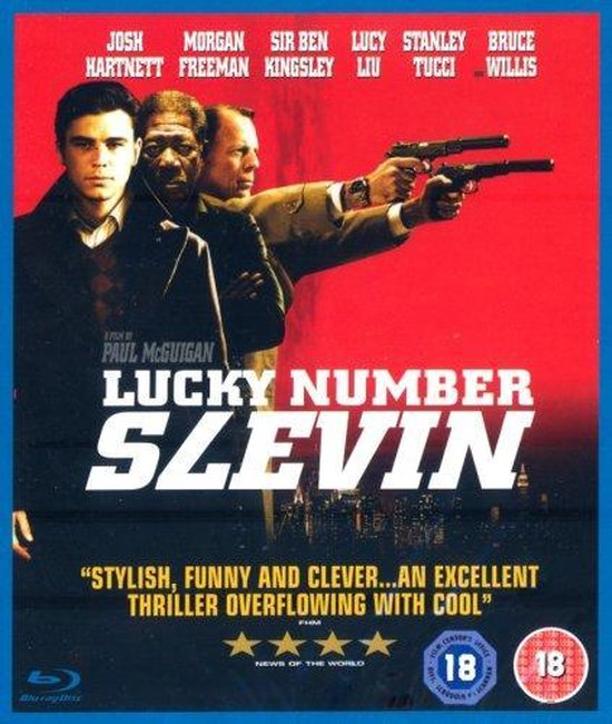 Cover van de film 'Lucky Number Slevin'