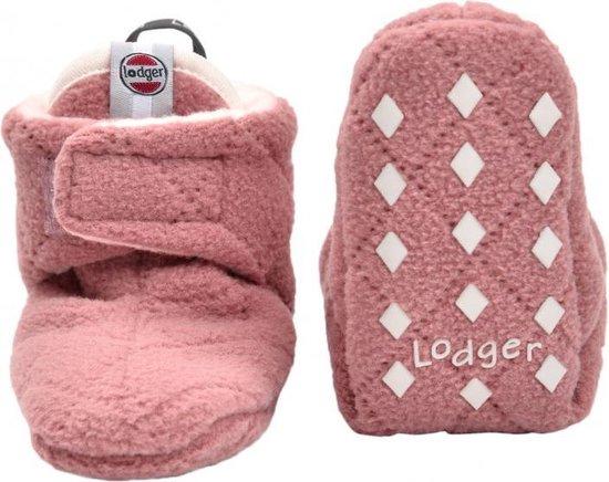 Lodger Babyslofjes - Slipper Scandinavian  - Roze - 12-18 mnd