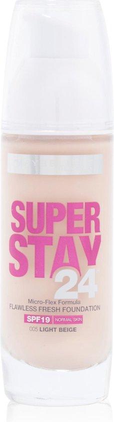 Maybelline SuperStay 24H Foundation – 05 Light Beige
