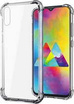 Samsung Galaxy A50 Hoesje Shock Proof Hoes Siliconen Case TPU Cover