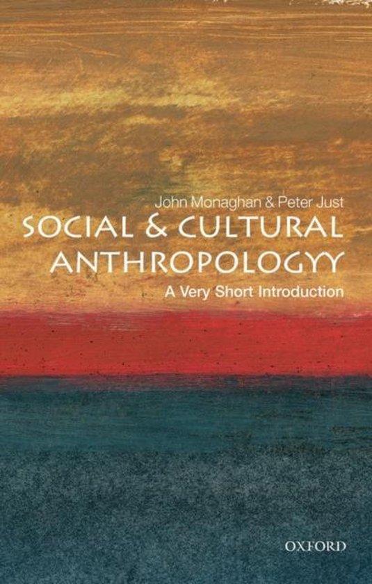 Boek cover Social and Cultural Anthropology van John Monaghan (Paperback)