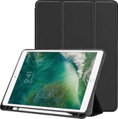 Smart Cover Book Case Hoes Voor Apple iPad Air 2019 / Pro 10.5 Inch 2017/2018 Tri-Fold Multi-Stand Flip Sleeve - Zwart
