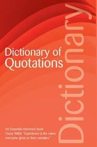 Boek cover The Dictionary of Quotations van Connie Robertson