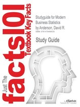 Studyguide for Modern Business Statistics by Anderson, David R.
