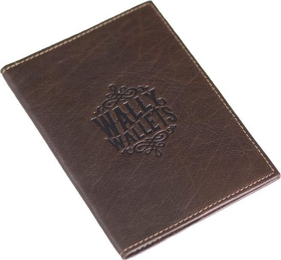 Wally Wallets - Paspoorthoes - Donkerbruin