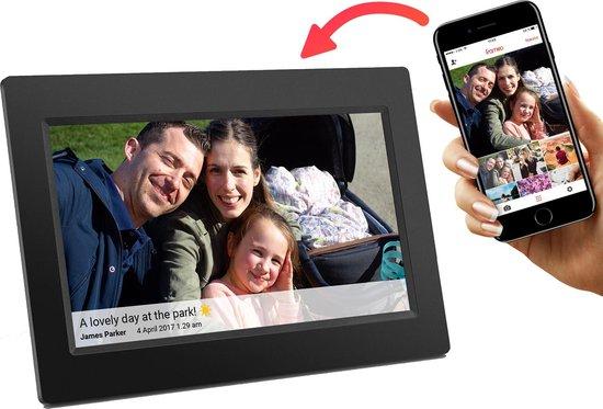 Denver PFF-710 Black - Digitale Fotolijst - 7 inch - Zwart