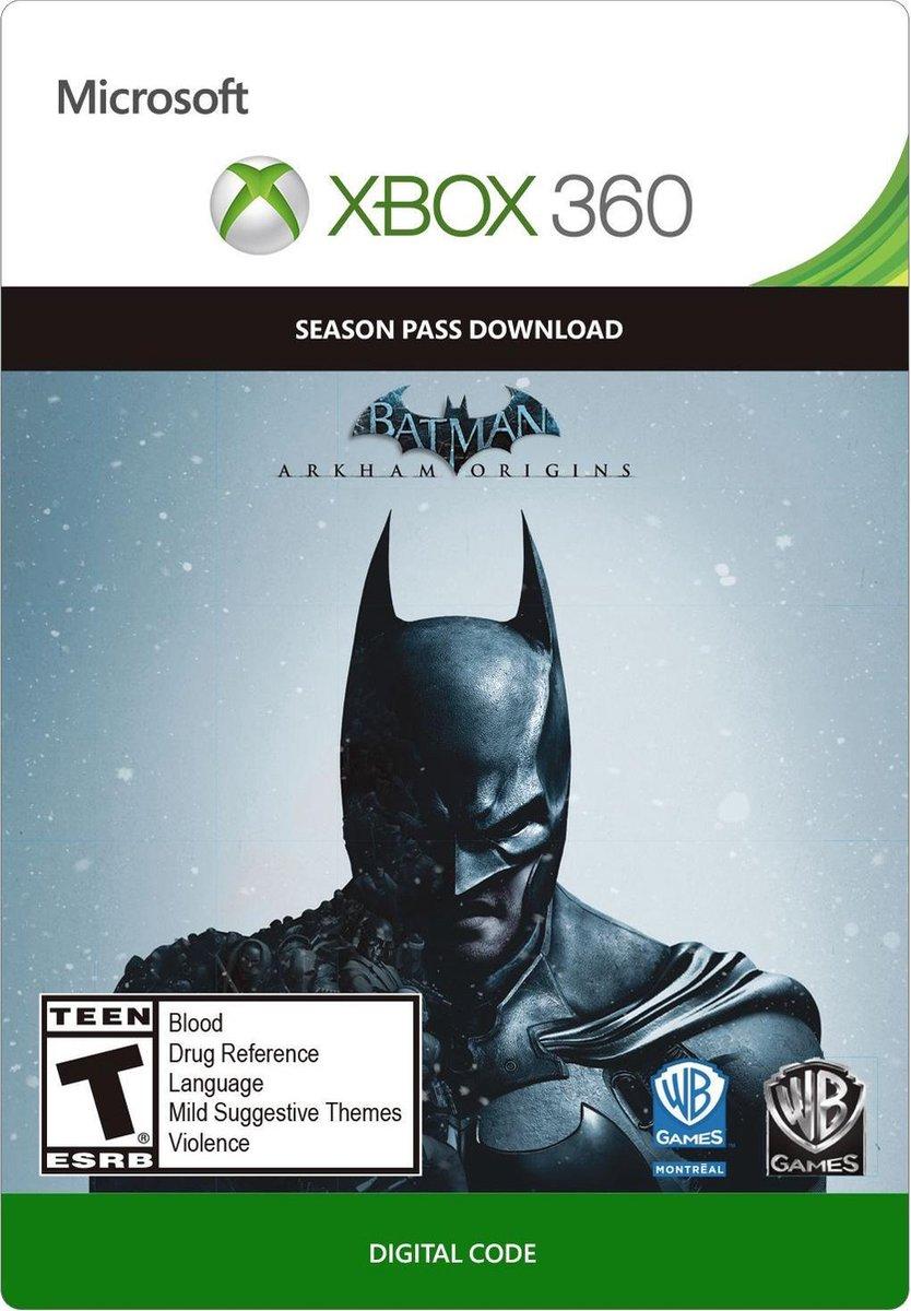 Batman: Arkham Origins Season Pass - Xbox 360 - Season Pass - Niet beschikbaar in Belgie
