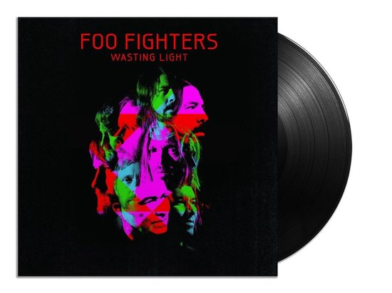 CD cover van Wasting Light (LP) van Foo Fighters