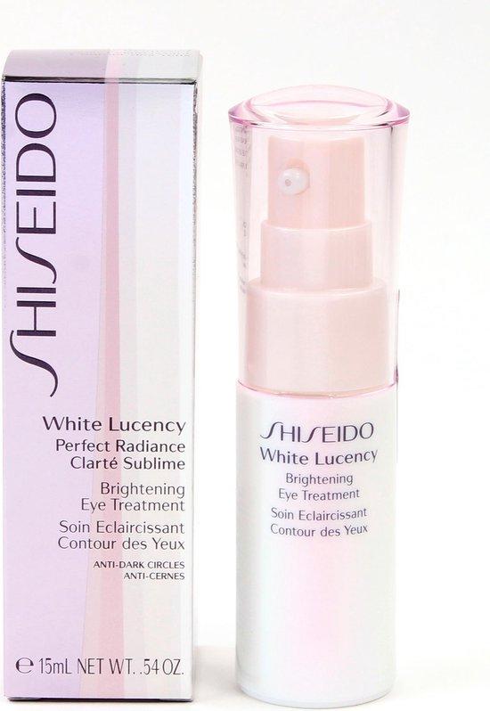 Shiseido White Lucency Perfect Radiance Brightening Eye Treatment - 15 ml - Oogcrème