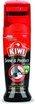 Kiwi Schoensmeer Shine & protect zwart 75ml