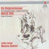 Die Dreigroschenoper, Berlin 1930 / Lenya, Dietrich