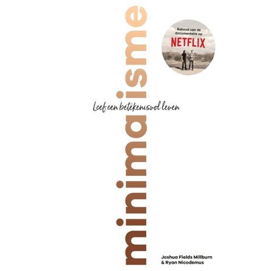 Boek cover Minimalisme van Joshua Fields Millburn (Onbekend)